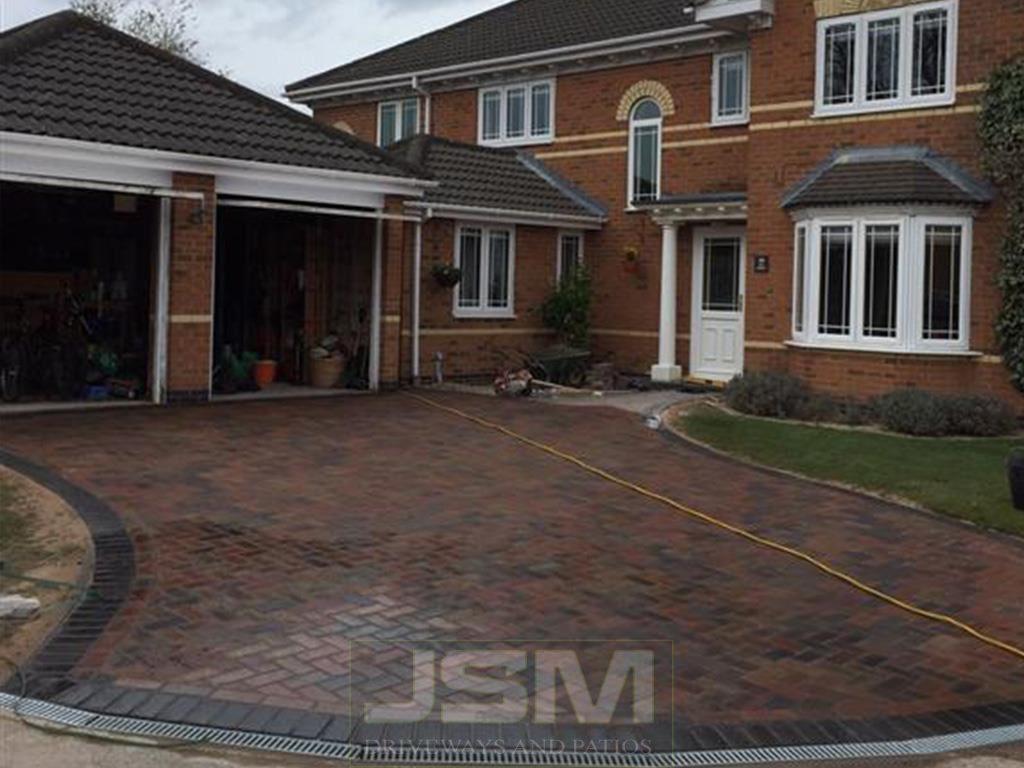 Block Paving in Newton Longville
