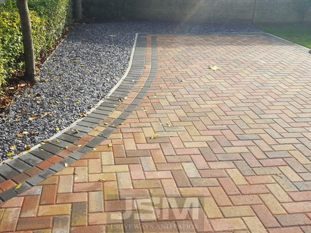 Block Paving Driveways in Cold Brayfield