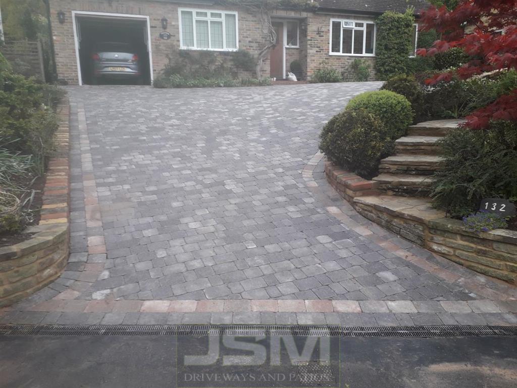 Block Paving Driveways in Akeley