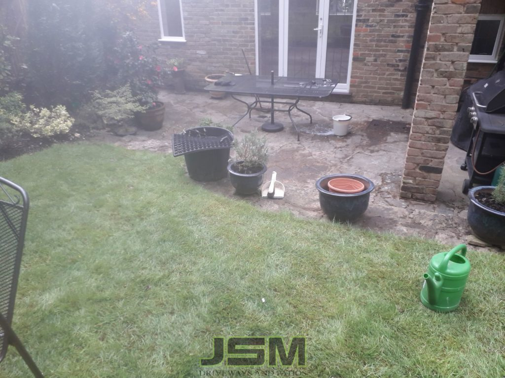 Garden Paving company in Haversham, Milton Keynes.