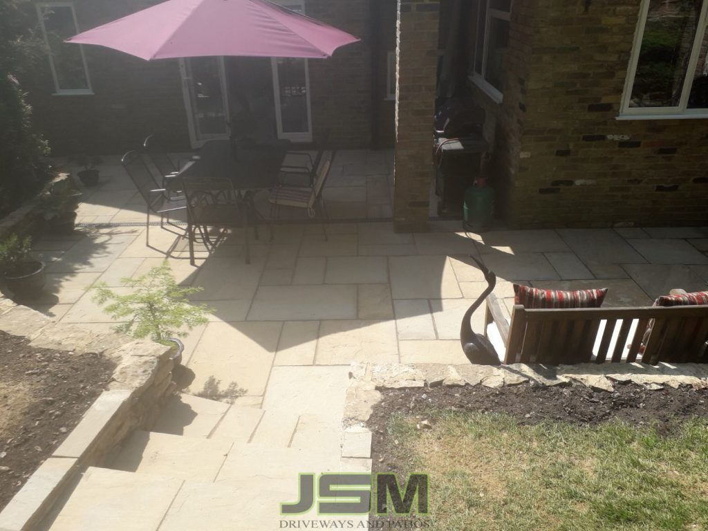 Patio Paving company in Winslow, Milton Keynes.
