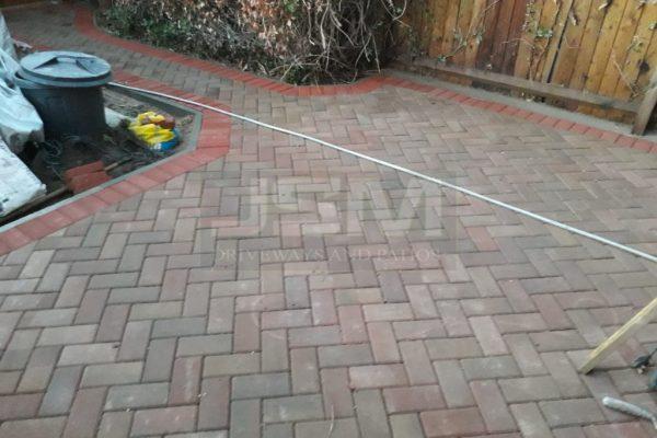 New Block Paving Installation on Patio in Milton Keynes