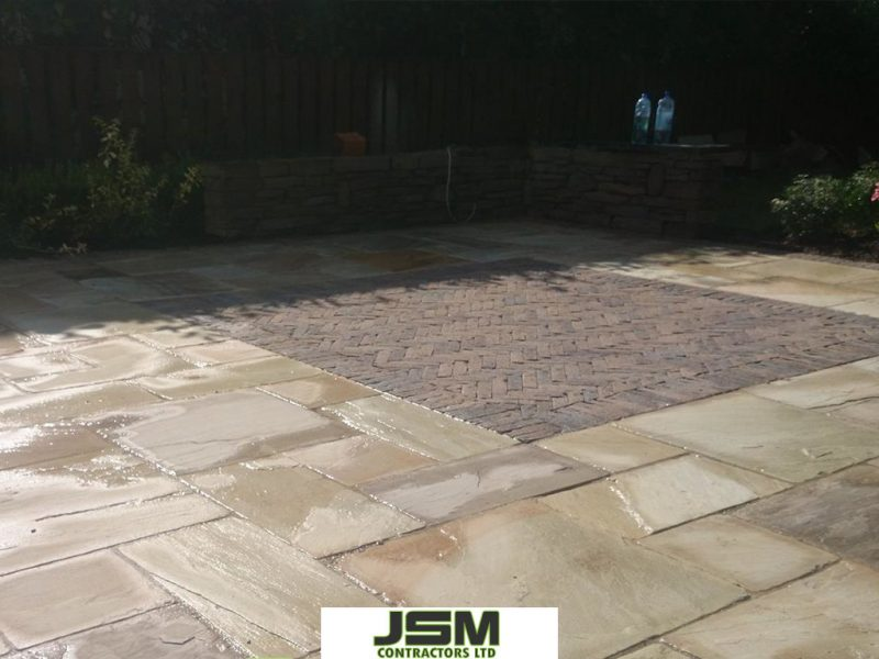 Light Indian Sandstone Laid By JSM