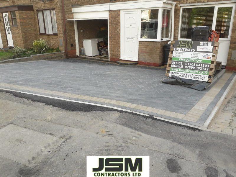 New Driveway Built At Home In Milton Keynes
