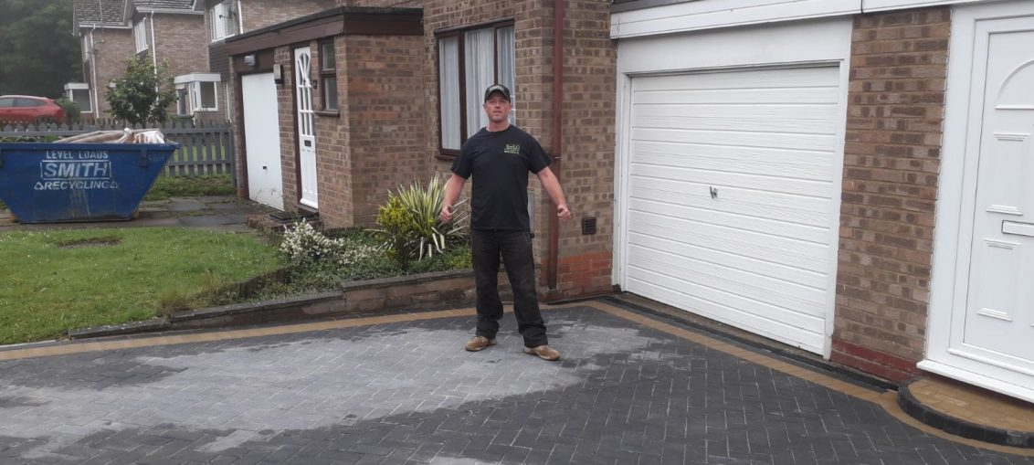 New Driveway Built At Home In Milton Keynes