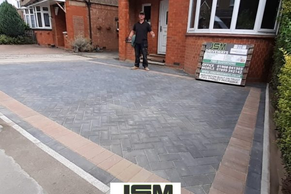 New Driveway Installation in Bletchley