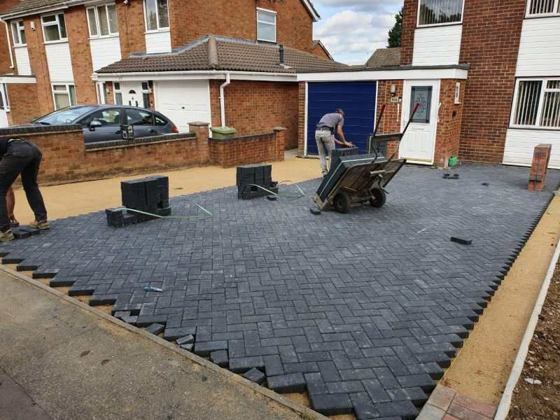 Driveway Laid In Block Paving by JSM Driveways