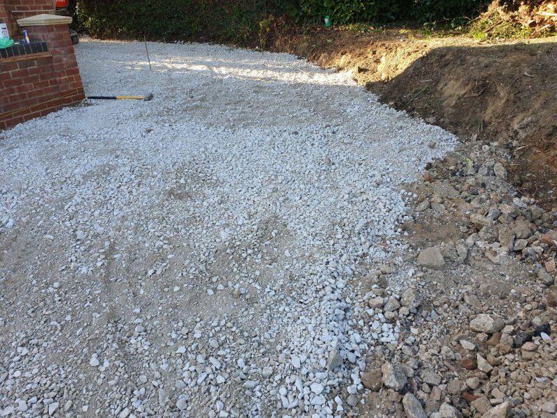 New Large Driveway Installation in Milton Keynes