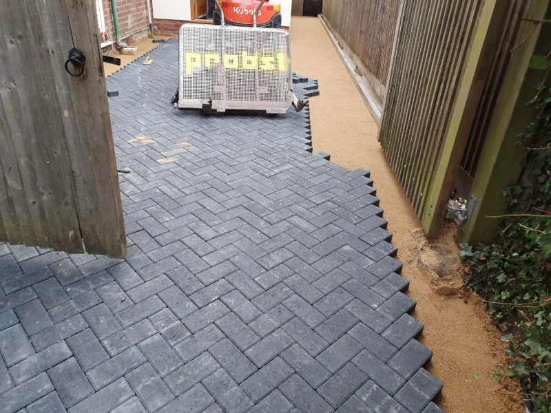 New Large Driveway Installation in Milton Keynes