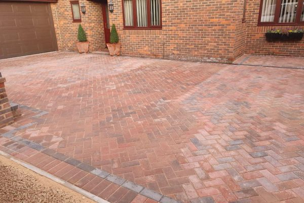 New driveway installation completed by JSM Driveways for Milton Keynes