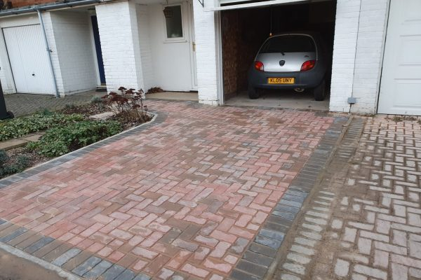 New Driveway in Leighton Buzzard